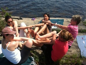 22 Day 200hr Yoga Teacher Training in Island Falls, Maine