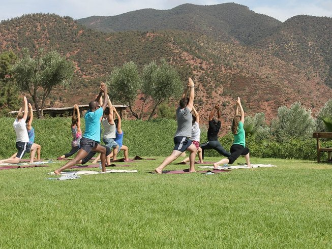 8 Days Authentic Yoga Retreat in Marrakech, Morocco