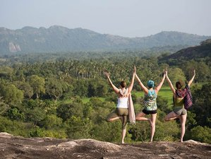 14 Days Dynamic Hatha and Restorative Yoga Retreat in Ulpotha, Sri Lanka