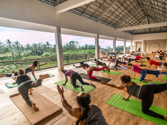 8 jours resplendissants en stage de yoga et méditation à Bali, Indonésie