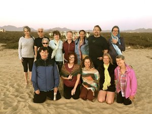8 jours en stage de yoga à la pleine lune au Mexique