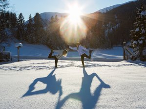 8 Days Winter Yoga Retreat in France