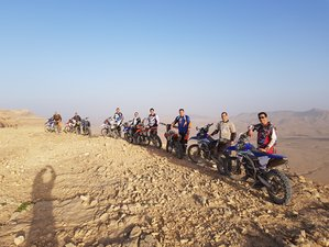 8 Day Amazing Varied Culture and Desert Enduro Guided Motorbike Tour in Israel
