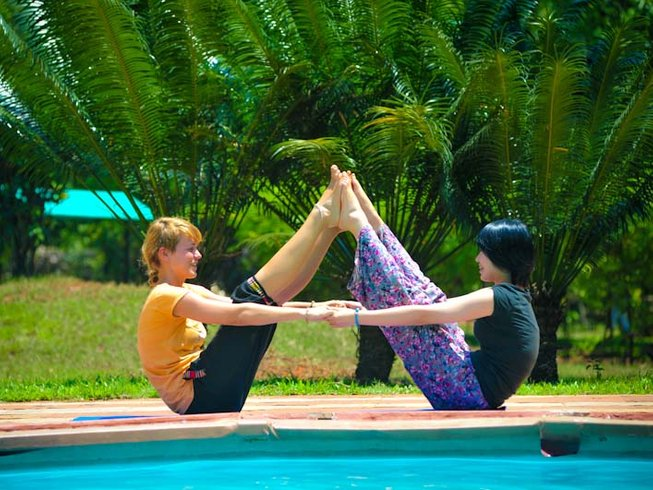 8 Days Singles Yoga Holiday in India