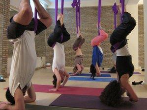 8 Days 65-hour Continuing Education Aerial Yoga Teacher Training in Paros Island, Greece