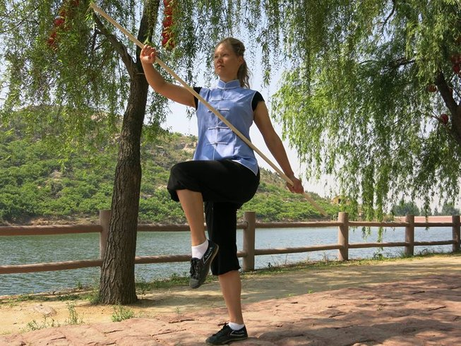 11 Months Sanda, Kungfu, Fitness Training in China