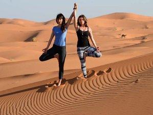 10 jours en retraite yoga dans le désert du Sahara, Maroc