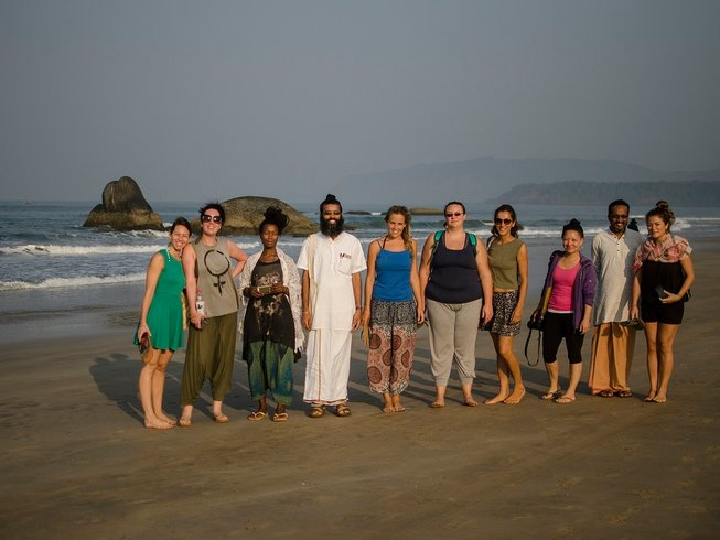 27-Daagse 200-urige Yoga Docententraining in Goa Beach, India