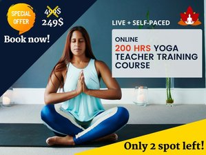 200-Hour Online (Live + Self paced) Hatha and Yin Yoga Teacher Training Course