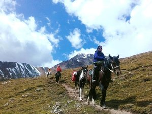 3 Day Horse Trail Riding Karakol - Altyn Arashan - Ala-Kul Lake, Kyrgyzstan