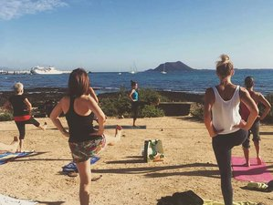 8 Day Yoga and Surf Camp in Corralejo, Fuerteventura, Canary Islands