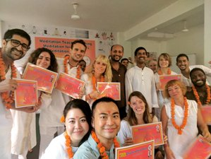 28 Days 300-Hour Meditation Teacher Training in Rishikesh, India