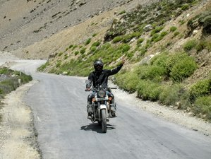 9 Day Virgin Ladakh Guided Motorcycle Tour in India