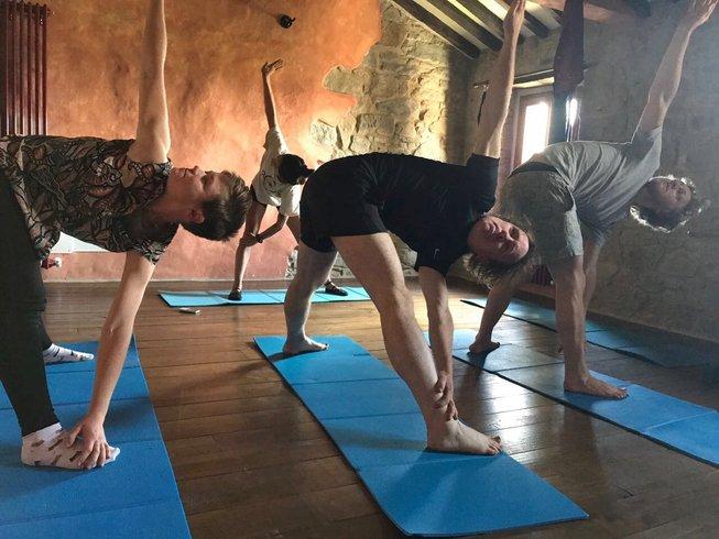 8 jours en stage de yoga dans les montagnes en Toscane, Italie
