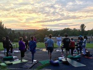 29 jours-200h en formation de professeur de yoga et méditation en Pennsylvanie, États-Unis