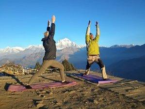 9 Day Pranayama Mardi Himal Trekking with Yoga Holiday in Nepal