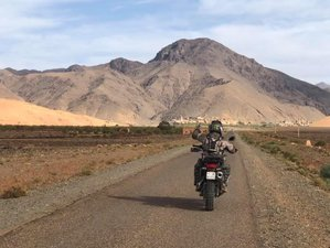 9 Days High Atlas Guided Motorcycle Tour in Morocco