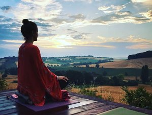 7 Day Chez Zen All Inclusive: Reborn Yoga Retreat Rebel Buddha in La Sauvetat, Puy-de-Dôme