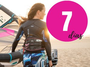 7 Day Women Kitesurf Adventure in Corralejo, Fuerteventura With Local Rider Julia Castro