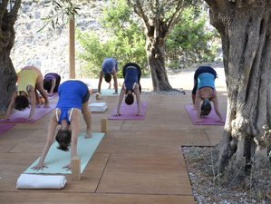 8 Days Iyengar Yoga Retreat Greece with Constantinos