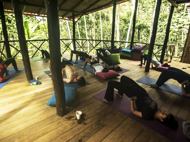 4 Days Magical Jungle Detox and Yoga Retreat in Peru