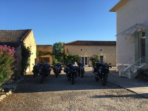 8 Day Guided Motorcycle Tour through beautiful South West France