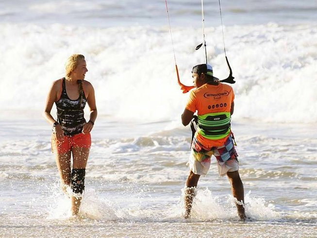 4 Days Two-Person Beginner Kitesurfing Camp in Ceara, Brazil