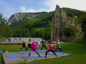 4 Day Alpine Action Adventure, Fitness, and Yoga Holiday in Haute-Savoie