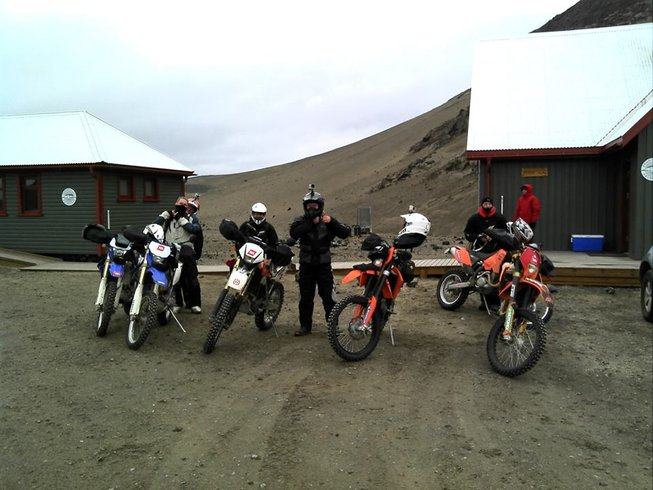 8 Days Cross-Country Iceland Motorcycle Tours