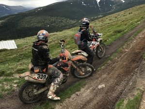 8 Days Guided Enduro Motorcycle Tour for Small Groups in Sibiu Area, Romania