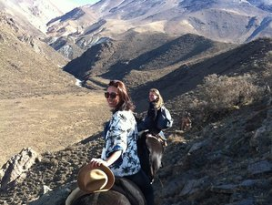 4 Day Mountain Stay and Horseback Riding Holiday in Mendoza