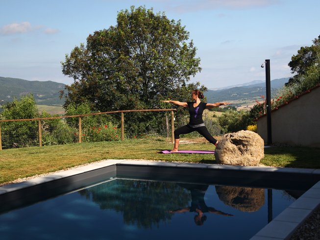 7 Days Wellbeing Yoga Retreat in Tuscany, Italy