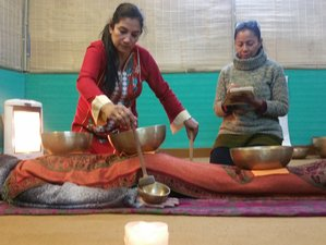11 Days Tibetan Sound Healing Meditation and Yoga Retreat in Rishikesh, India