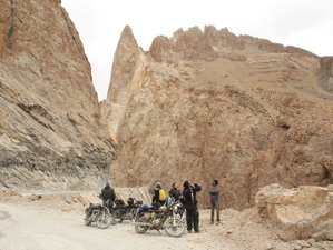 15 Day Guided Trans Himalayan Motorcycle Expedition in India