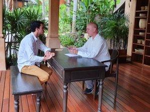8 Days Unique Fasting, Detoxification Retreat, Yoga, and Meditation in Samui, Thailand