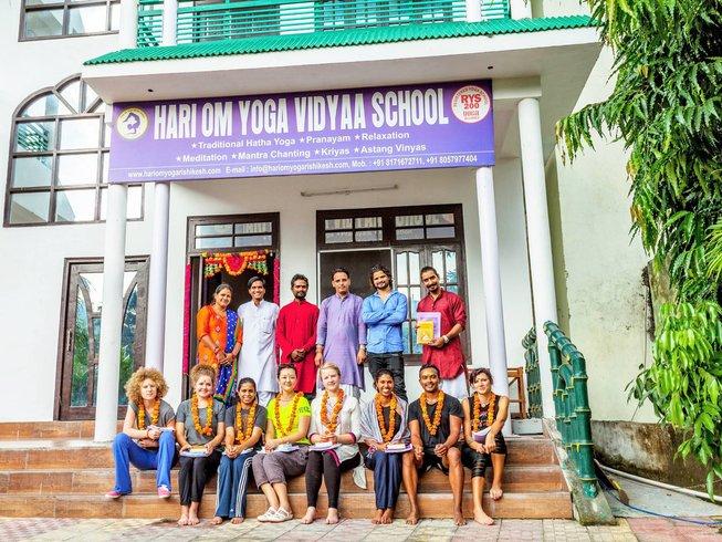7 Days Ancient Foundation Yoga Retreat in Rishikesh, India