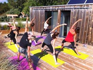 7 jours en stage de yoga, surf et massage thaï dans les Landes, France