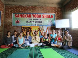 29 Days 300-Hour Yoga Teacher Training in Rishikesh, India