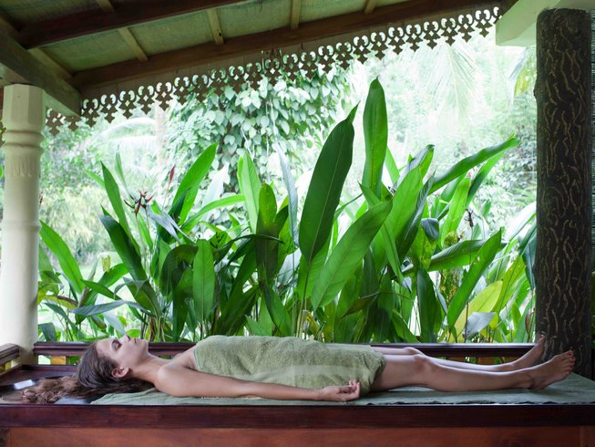 15 Days Yoga and Ayurveda Retreat in Kalutara, Sri Lanka