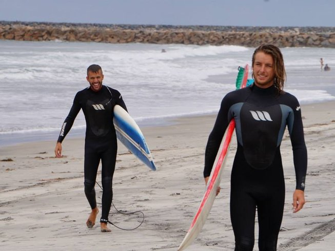 8 Days Surf Camp in San Diego
