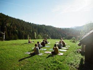 "4 Tage Wurzelwerkstatt ""Laub und Leise"" Yoga Retreat in Kaunertal, Tirol"