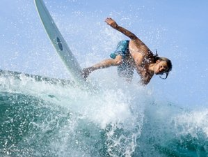 4 Day Beginner Surf Camp Private Trip in Punta Rocas