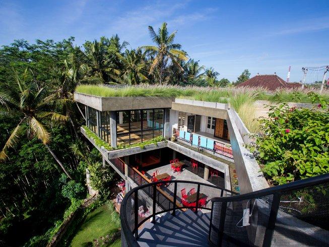2 jours en stage de yoga aérien FlyHigh à Ubud, Bali