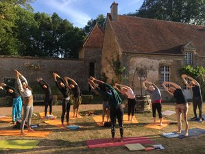 6 Days Yoga, Dance and Drumming Retreat in Jouey, France