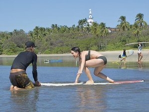 7 Day Between the Ocean and the Jungle Surf and Yoga Retreat in Nosara, Guanacaste