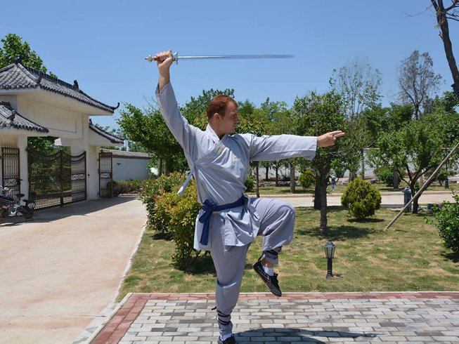9 Months Learn Kung Fu in China with Shaolin Masters