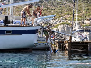 8 Day Yoga Holiday with the Magic Sailing Yacht in the Dodecanese Islands, Greece