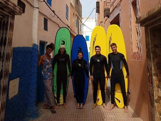 8 Days Full Moon Yoga and Surf Camp in Taghazout, Morocco