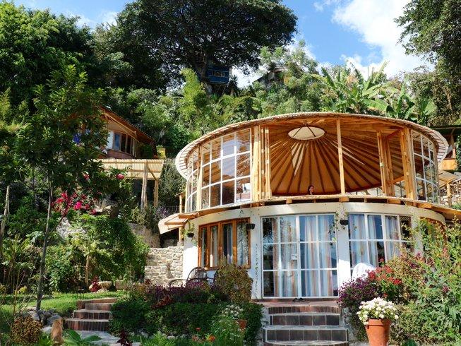 92 Tage Advaita Vedanta Schweigemeditation Urlaub in Lake Atitlan, Guatemala
