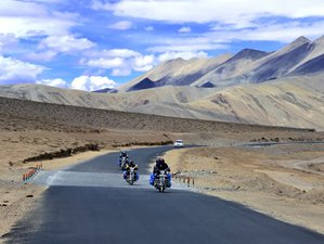 8 Day Undisturbed Beauty of Spiti Guided Motorcycle Tour in India